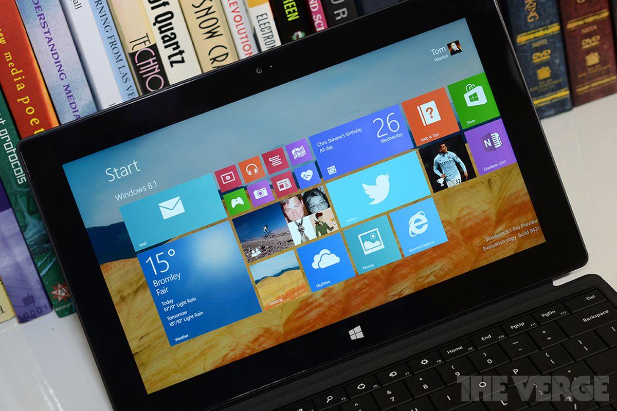 Windows 8.1 hands-on