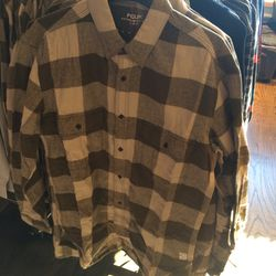 Flannel, size XS, $20 (was $108)