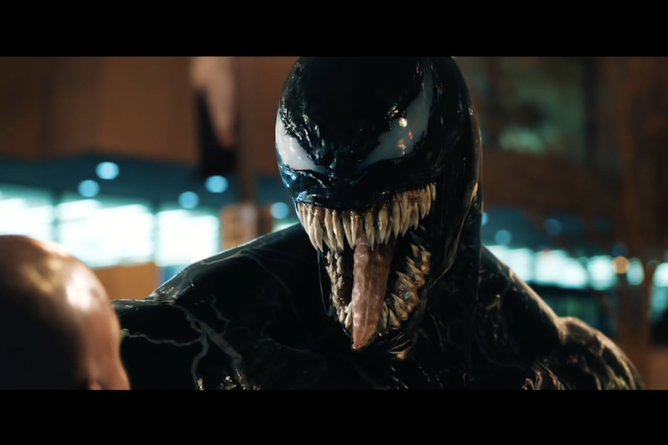 new venom trailer has venom in it