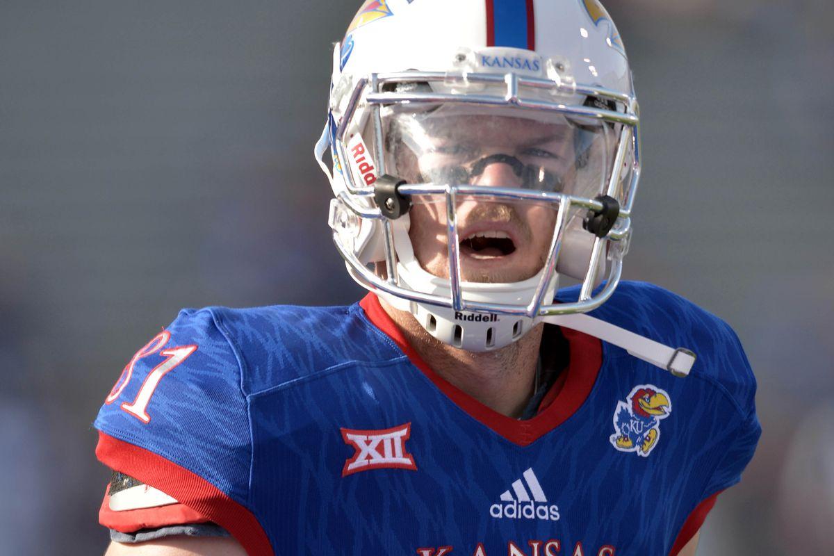 NCAA Football: Memphis at Kansas