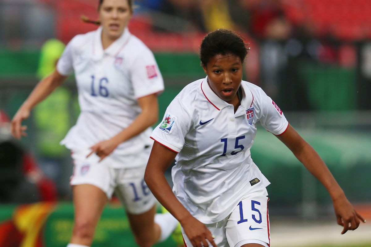 Korea DPR v USA: Quarter Final - FIFA U-20 Women's World Cup Canada 2014