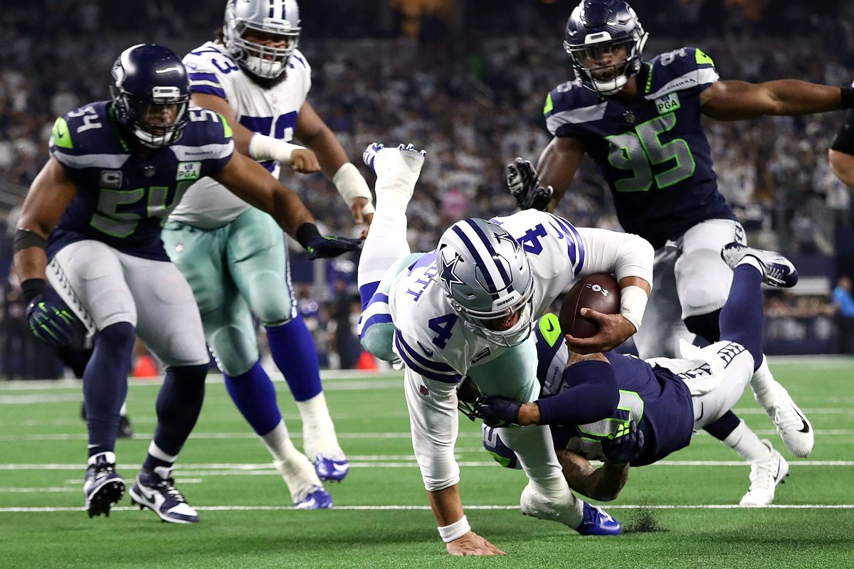 Dallas Cowboys Live On Beat Seahawks 24 22 In Wild Card Game