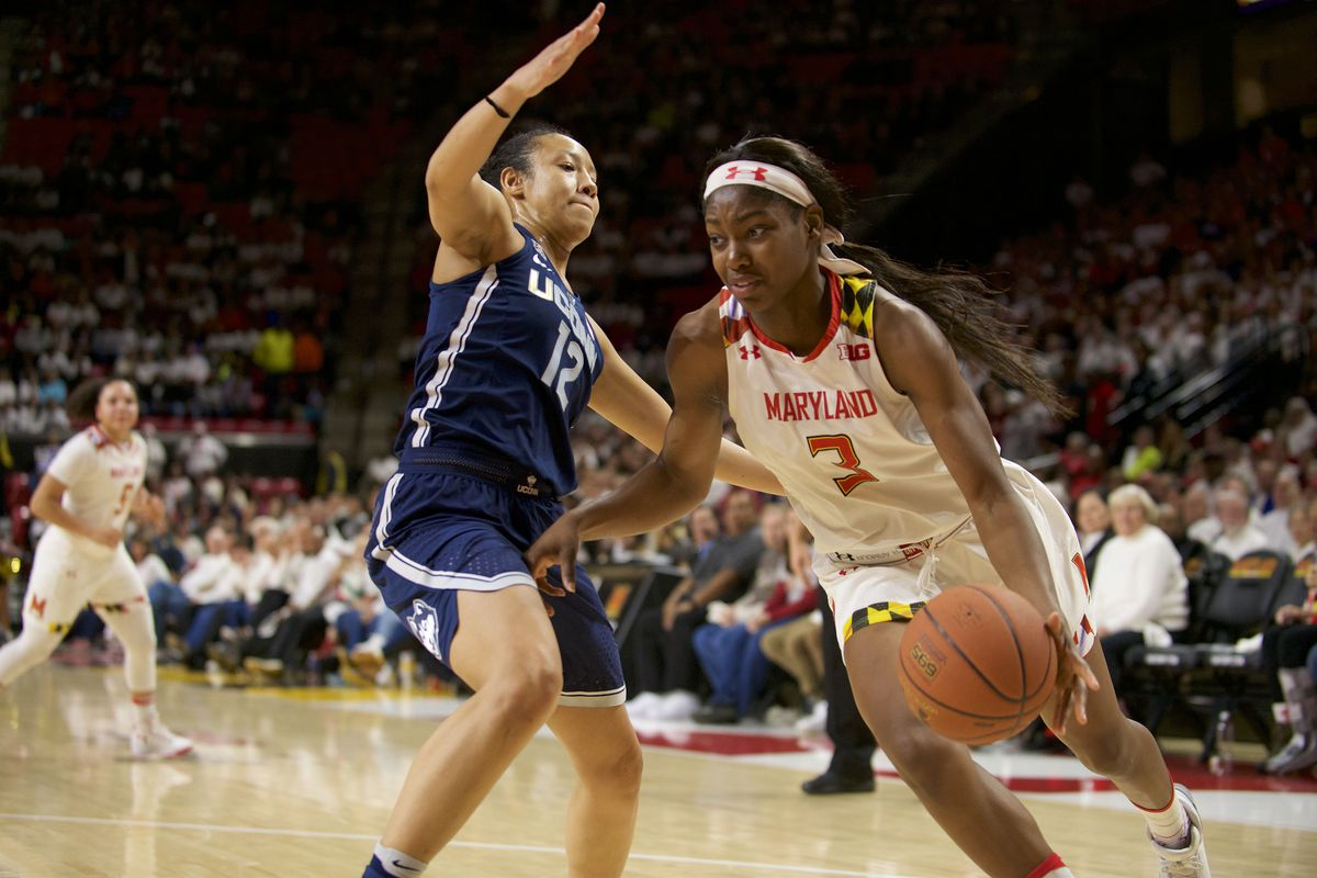 NCAA Womens Basketball: Connecticut at Maryland