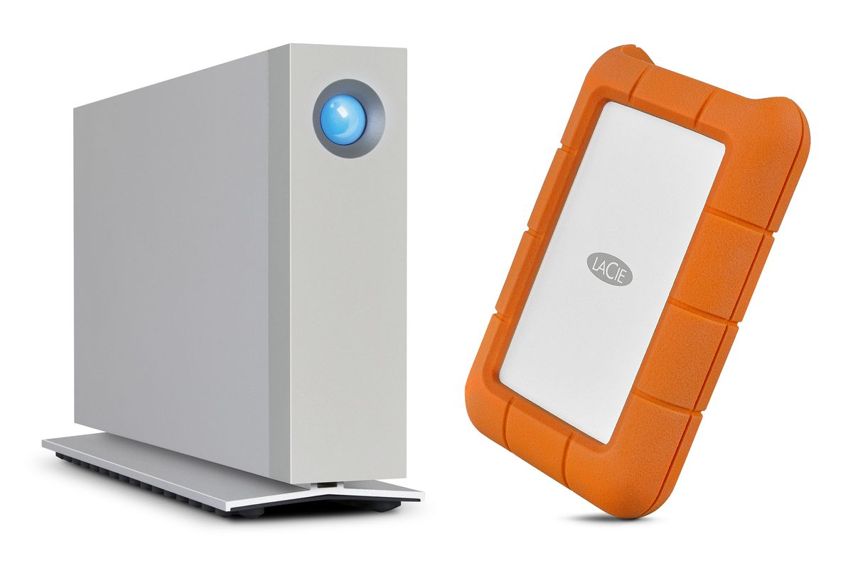 Lacie Shows Off Usb C Versions Of Its Rugged Thunderbolt And