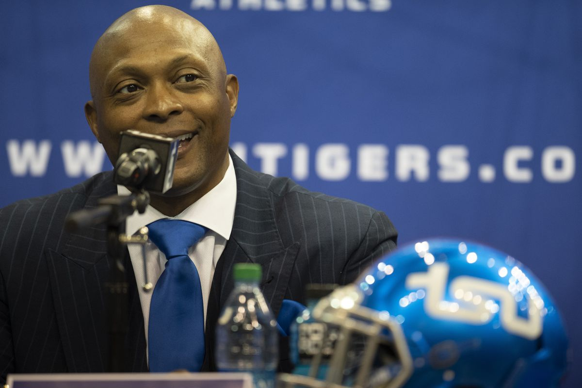 Former Tennessee Titans running back Eddie George is now head coach at Tennessee State.