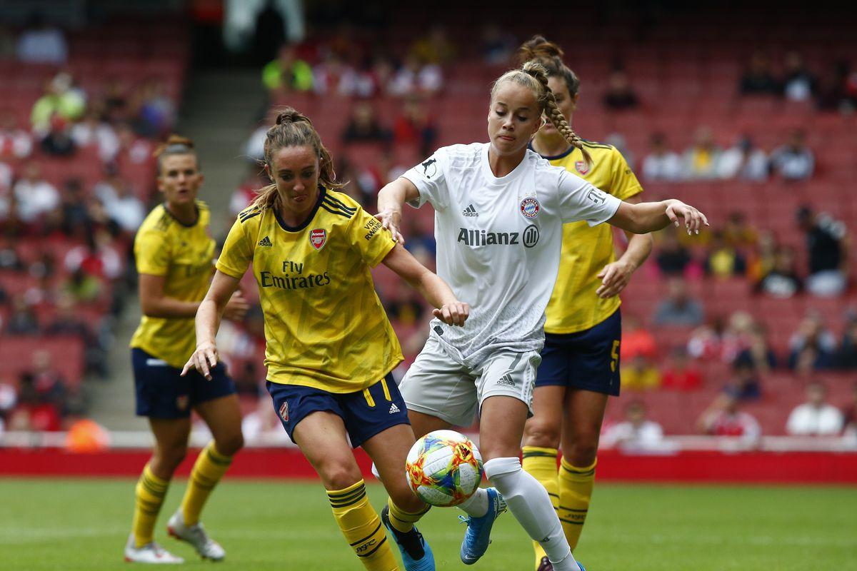 Arsenal Women v FC Bayern Munich Women - Emirates Cup