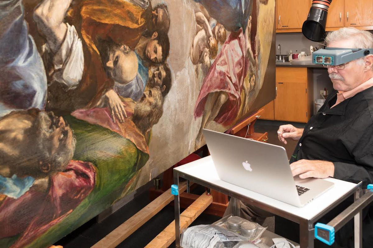 Frank Zuccari introduced new scientific techniques to the restoration of masterpieces.