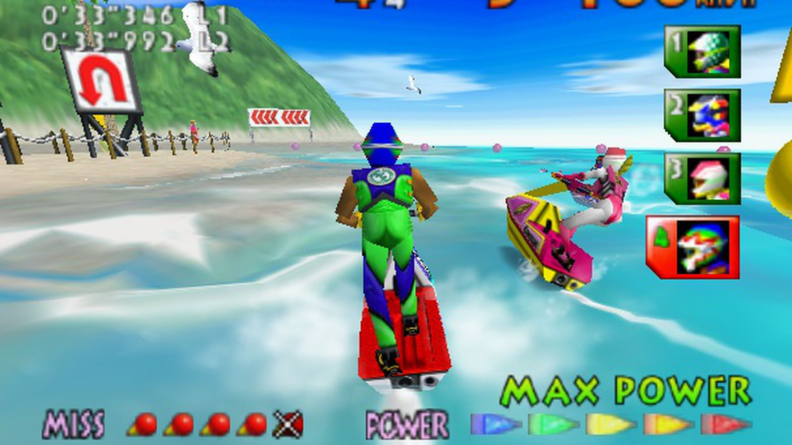 wave race 64 may be one of the wii u 39 s last great games the verge. Black Bedroom Furniture Sets. Home Design Ideas