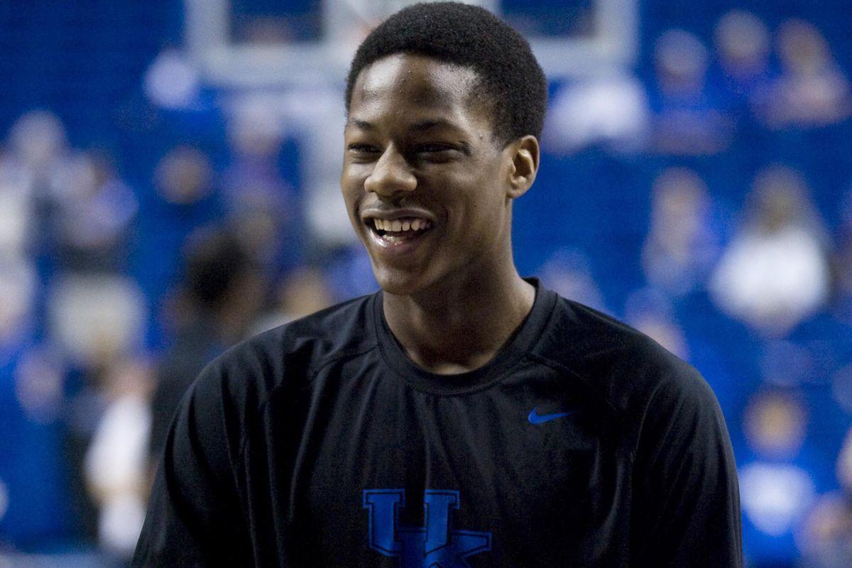 Smiling Archie.  Smiling Big Blue Nation