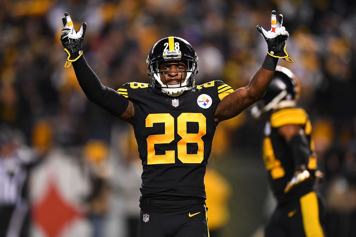 lowest price 7ae7d 110f5 CB Mike Hilton named as Pittsburgh Steelers most underpaid ...