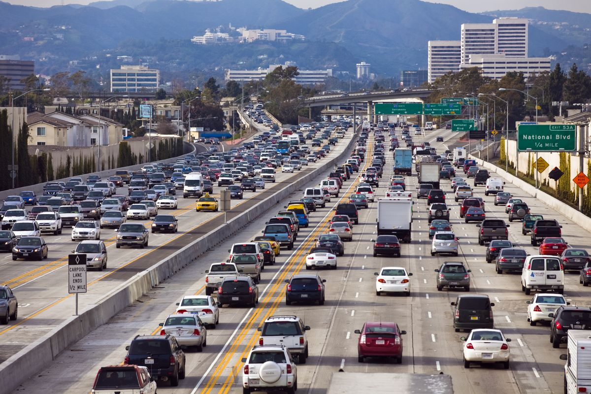 The Worst Day and Time to Drive on Every Los Angeles Freeway - Curbed LA