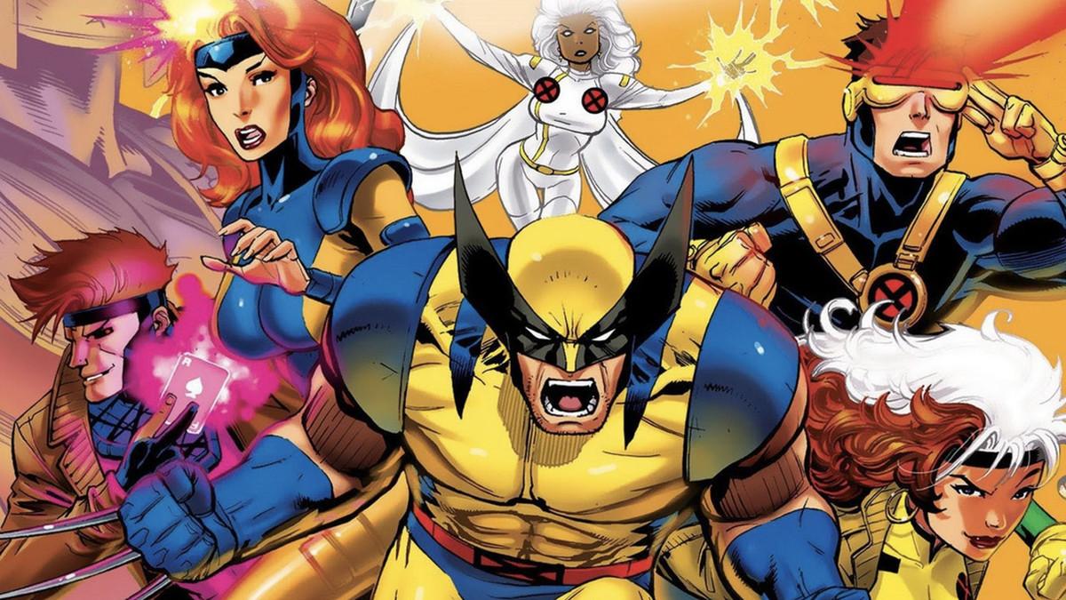 x-men the animated series cast logo