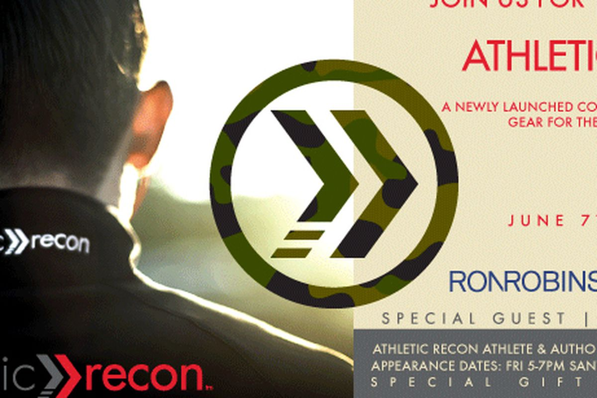 """Flyer via <a href=""""http://www.athleticrecon.com/save-the-date-fred-segal-launch-event/"""">Athletic Recon</a>"""