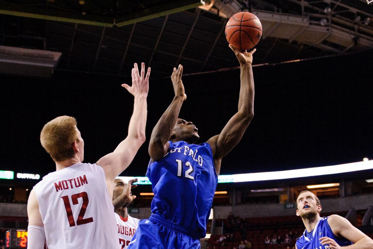 Javon McCrea scored a team high 14 points in Friday's loss