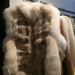 Fur vest, $225