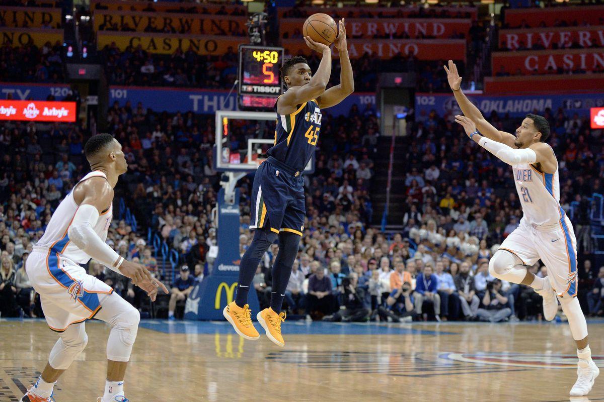 dc814117c9a9 Mark D. Smith-USA TODAY Sports. NBA Rookie Power Rankings  Donovan Mitchell  ...
