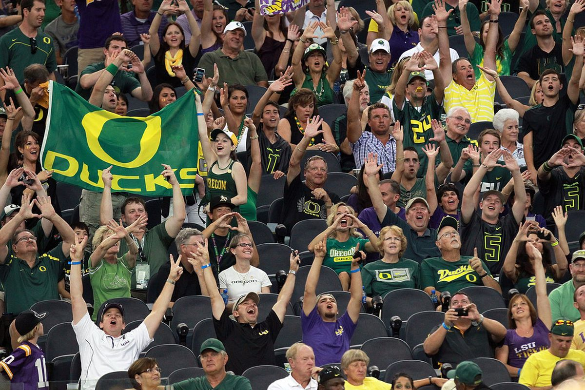 Oregon and LSU squared off a year ago at Cowboys Stadium in Arlington, Texas. Does a rematch in the 2013 BCS championship game await, too?