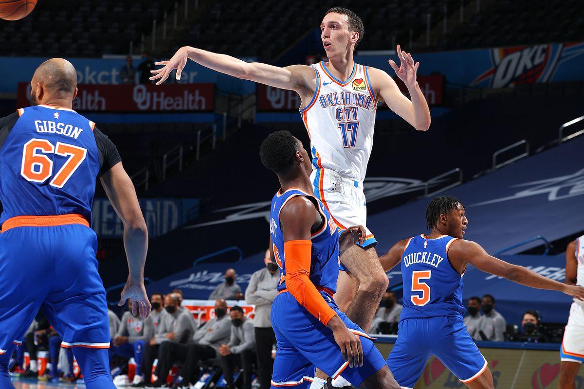 New York Knicks vs. Oklahoma City Thunder