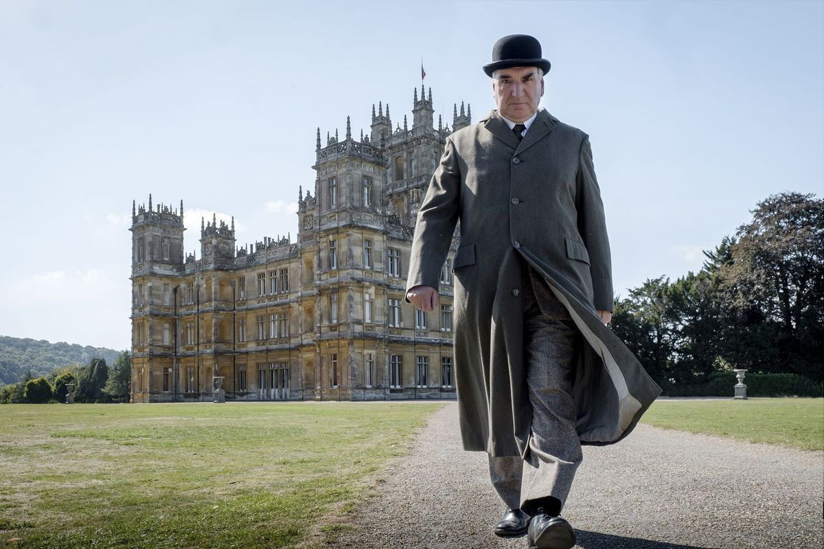 Carson leaves Downton Abbey.
