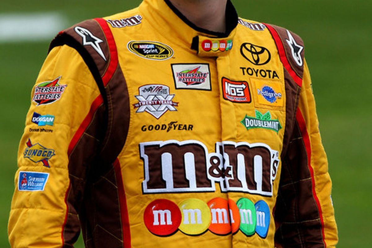 kyle busch suspended from nascar competition at texas motor speedway