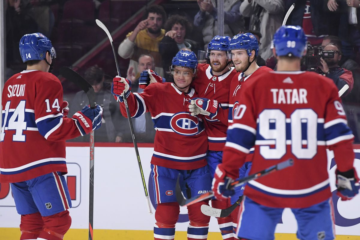 Habs Headlines: The second unit is driving the Canadiens' power play
