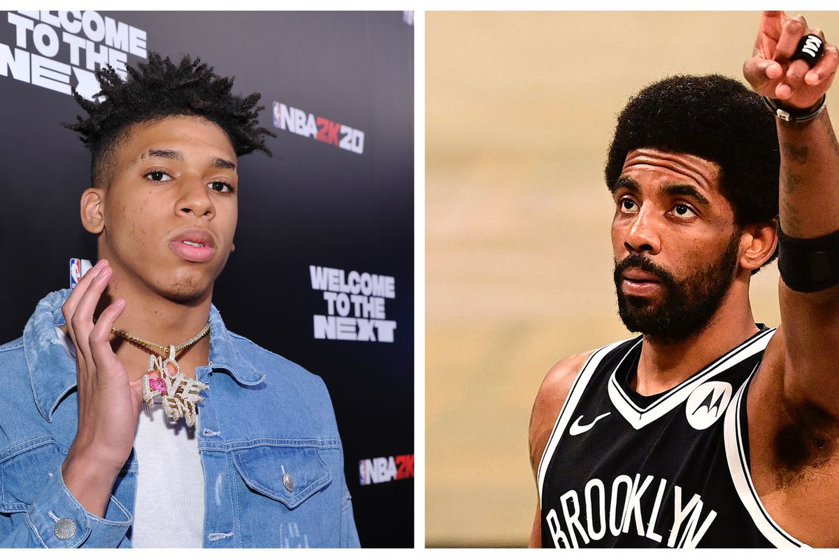 NLE Choppa and Kyrie Irving