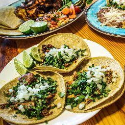 Tacos at Tortilleria Garcia in Cincinnati