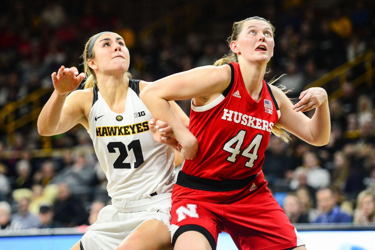 NCAA Womens Basketball: Nebraska at Iowa Jan. 3, 2019