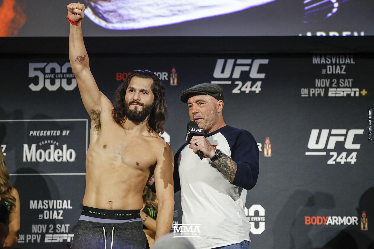 Jorge Masvidal and Joe Rogan