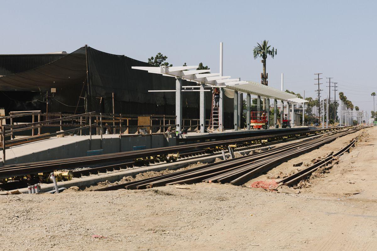 La Subway Map Year Opened.How Close Can You Get To Lax By Train Curbed La