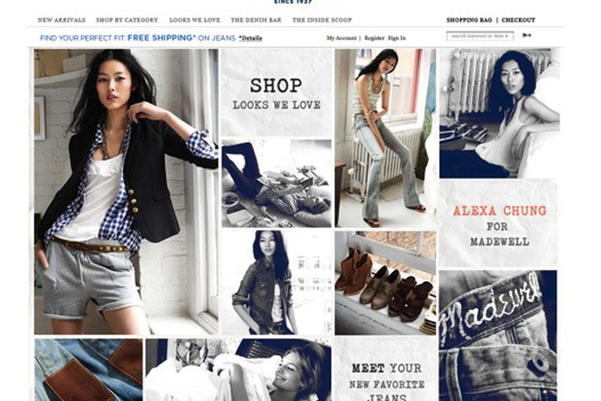 """We can't believe it's taken Madewell this long to launch ecommerce. Image via <a href=""""http://www.refinery29.com/rejoice-madewell-finally-is-available-online.php"""">Refinery29</a>."""