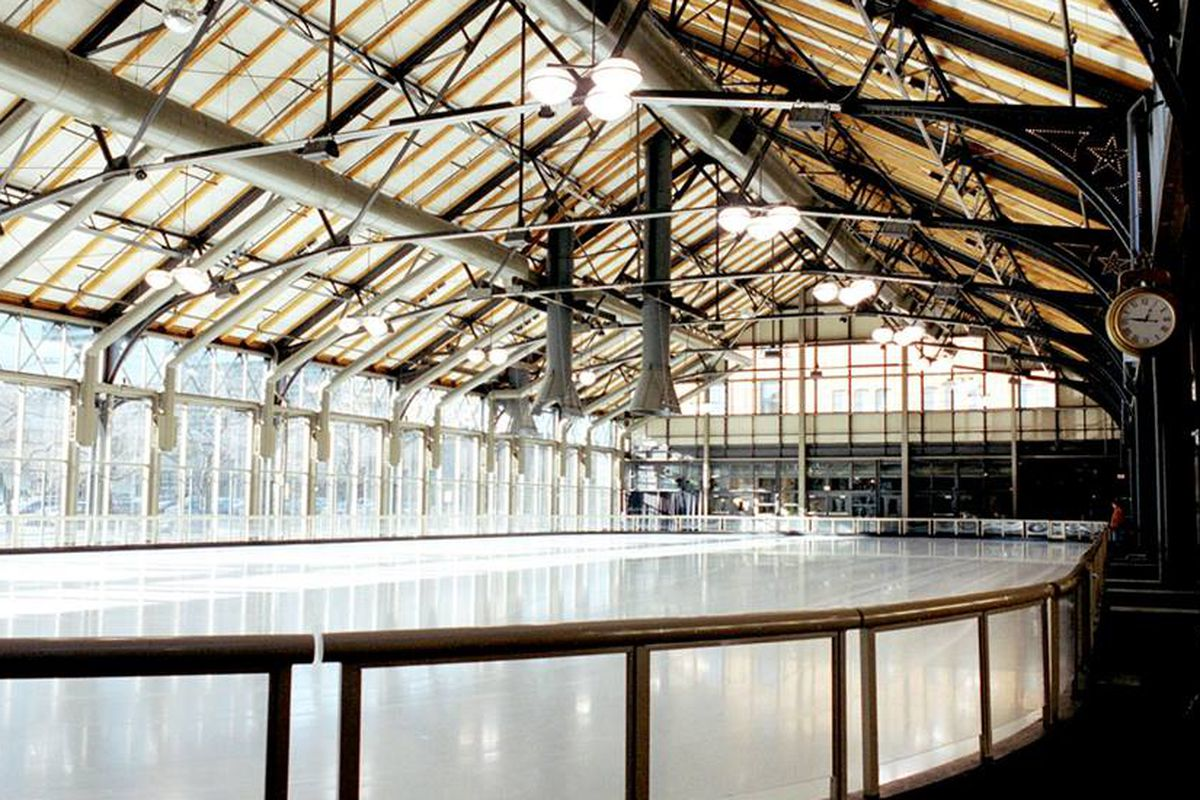 The site of Indeed on Ice