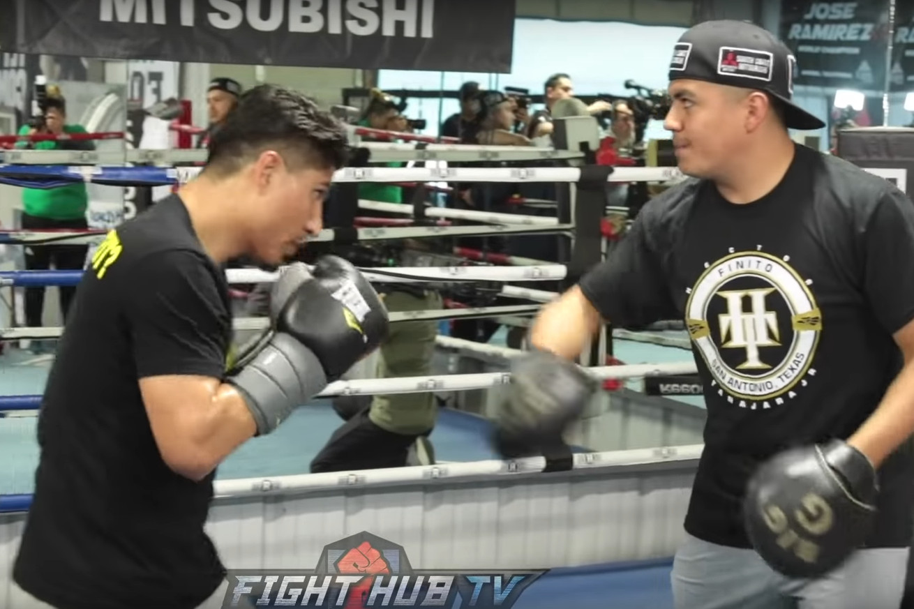 Screen Shot 2019 03 06 at 10.11.54 AM.0 - Spence-Garcia: Mikey Garcia's Open Media Workout