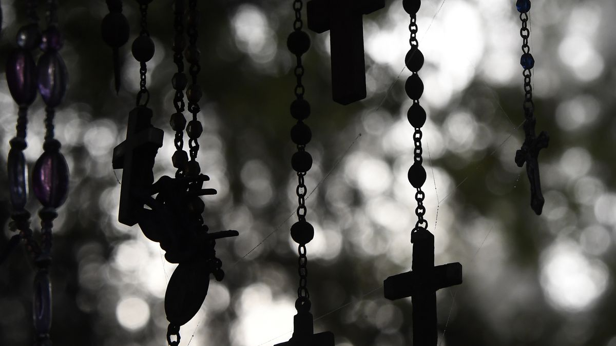 The Rebellion Of Rosary Beads Racked