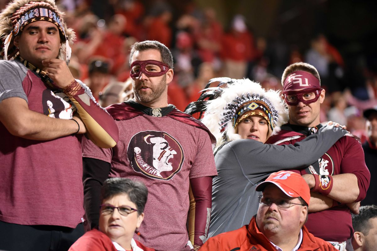 Image result for images of football fans at florida state