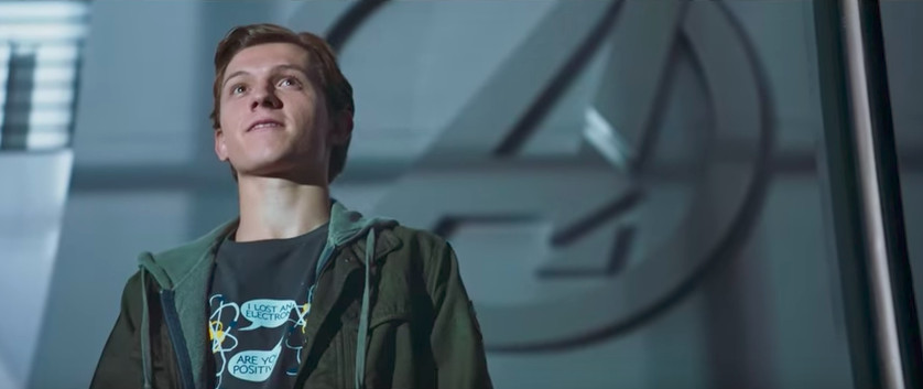 52804d0e3 Pay Attention to the Slogan Tees in Spider-Man: Homecoming - Racked