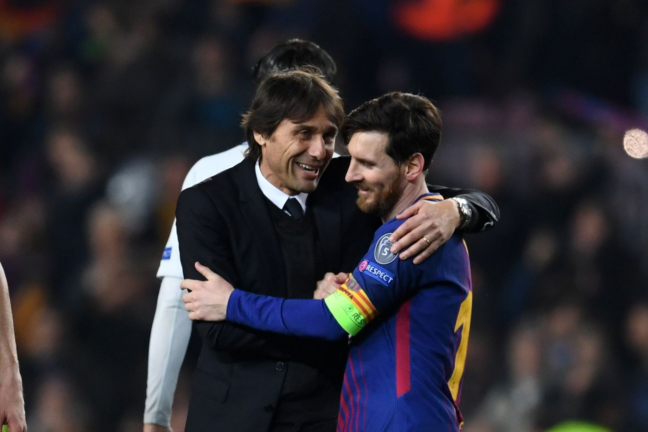 Conte laughs off Messi to Inter rumors