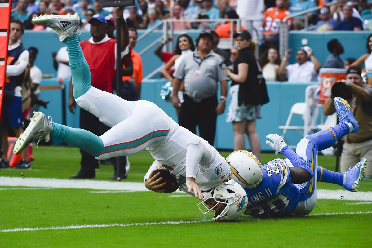 Los Angeles Chargers v Miami Dolphins