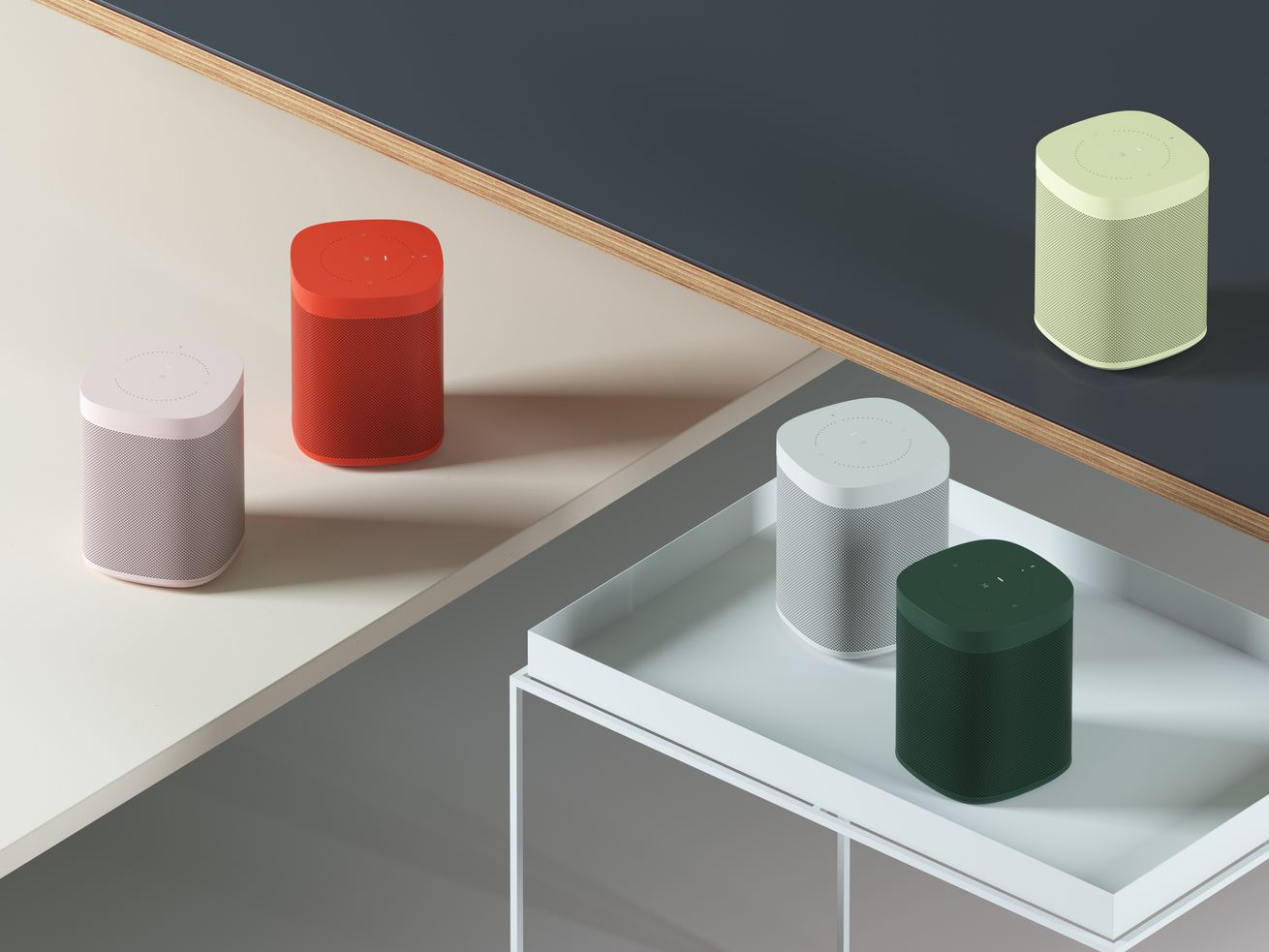 Sonos and hay limited edition colorful speake