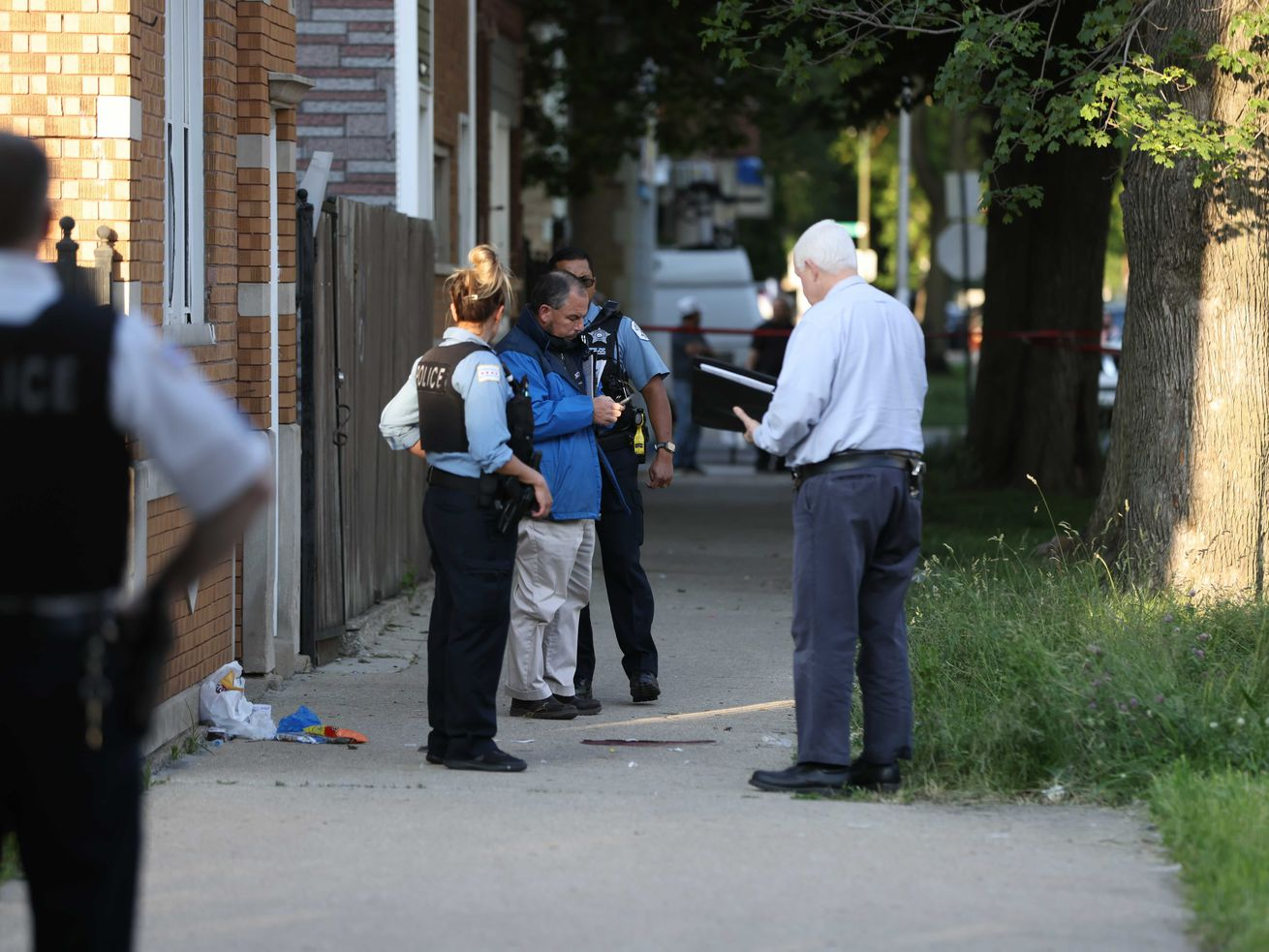 A 14-year-old girl shot in the head Wednesday in Back of the Yards is another victim of Chicago's gang violence.