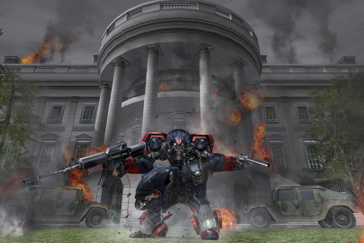 Metal Wolf Chaos XD review: the president is a mech pilot