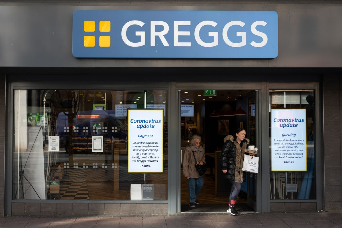 Greggs wants to open its bakeries on the U.K. high street out of coronavirus lockdown by July
