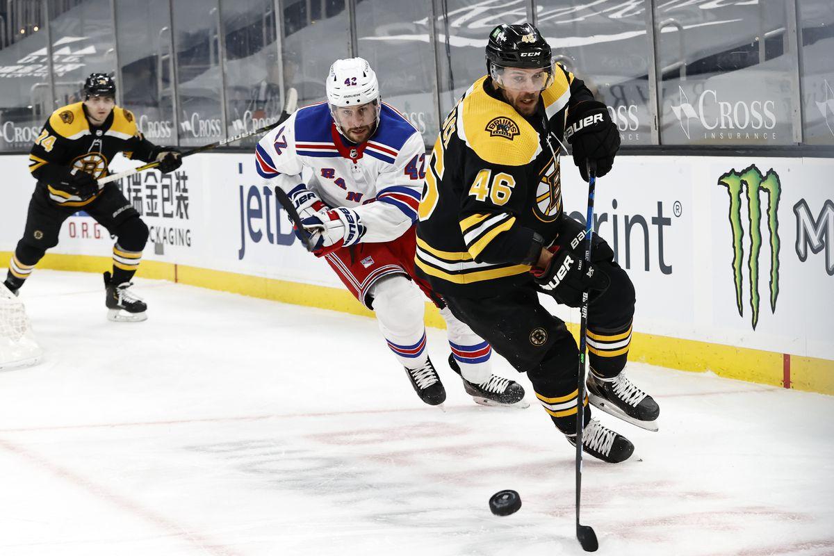 NHL: MAR 11 Rangers at Bruins
