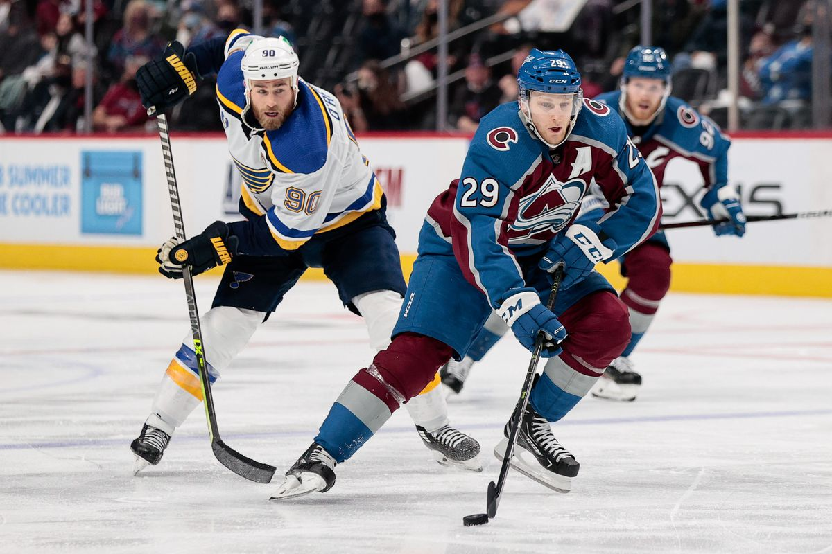 NHL: Stanley Cup Playoffs-St. Louis Blues at Colorado Avalanche