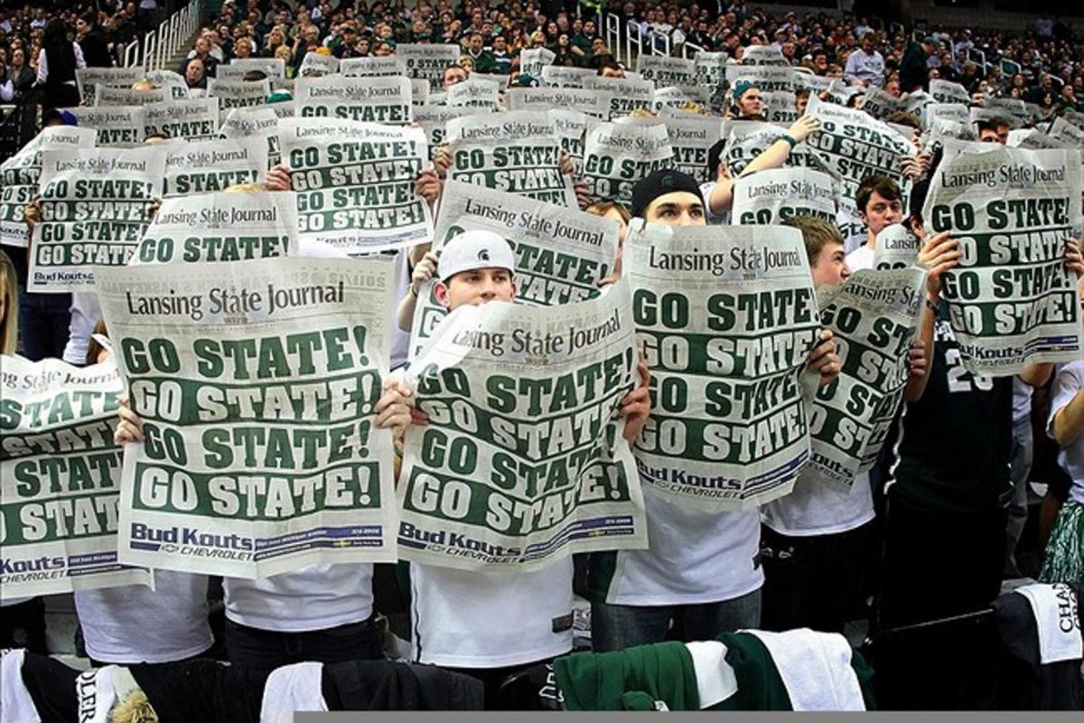 MSU has taken all of the drama out of the top of the Power Rankings.