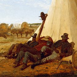 """""""The Bright Side"""" (1865) by Winslow Homer is featured in """"The Civil War and American Art."""""""