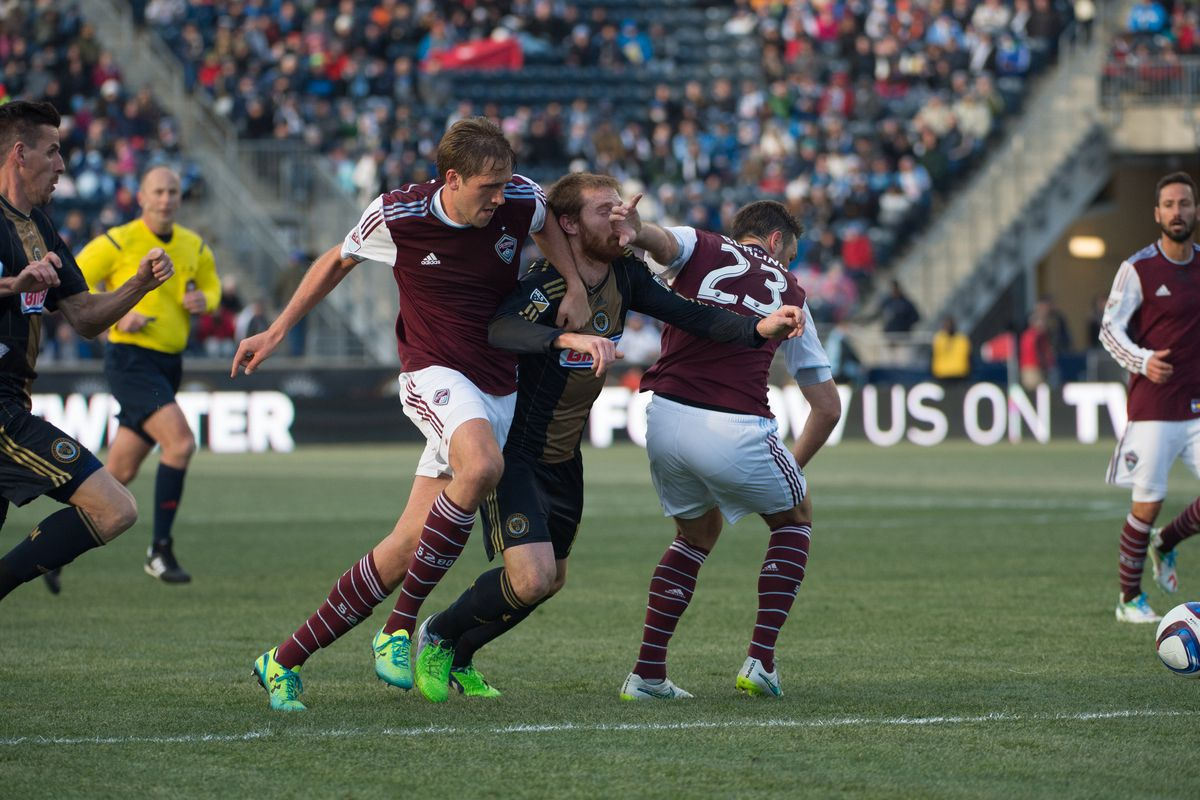 The Union got a face full of Rapids on Saturday!