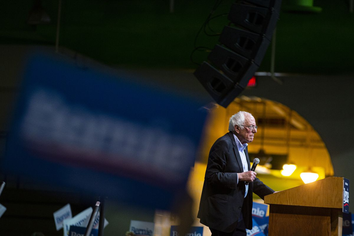 Bernie Sanders Holds Campaign Rally In Richmond, Virginia