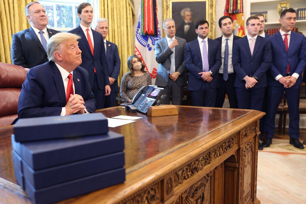 Peace agreement, Trump, Team KJ, Kevin Jackson