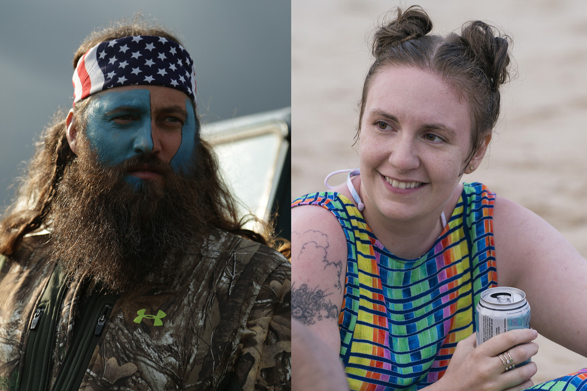 Girls and Duck Dynasty